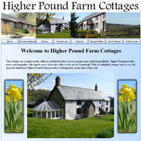 Welcome to Higher Pound Farm Cottages - Your ideal self catering accommodation near Axminster.