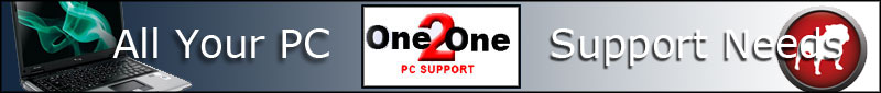 One 2 One PC Support. Based in Locks Heath, We provide PC support for both home and businesses, we also provide a web design and hosting service.