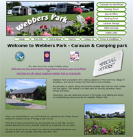 Webbers Park Website created by One 2 One PC Support